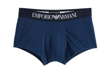 Emporio Armani Iconic Logo Band Trunks