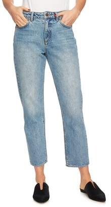 1 STATE 1.STATE Mid-Rise Straight Leg Ankle Jeans