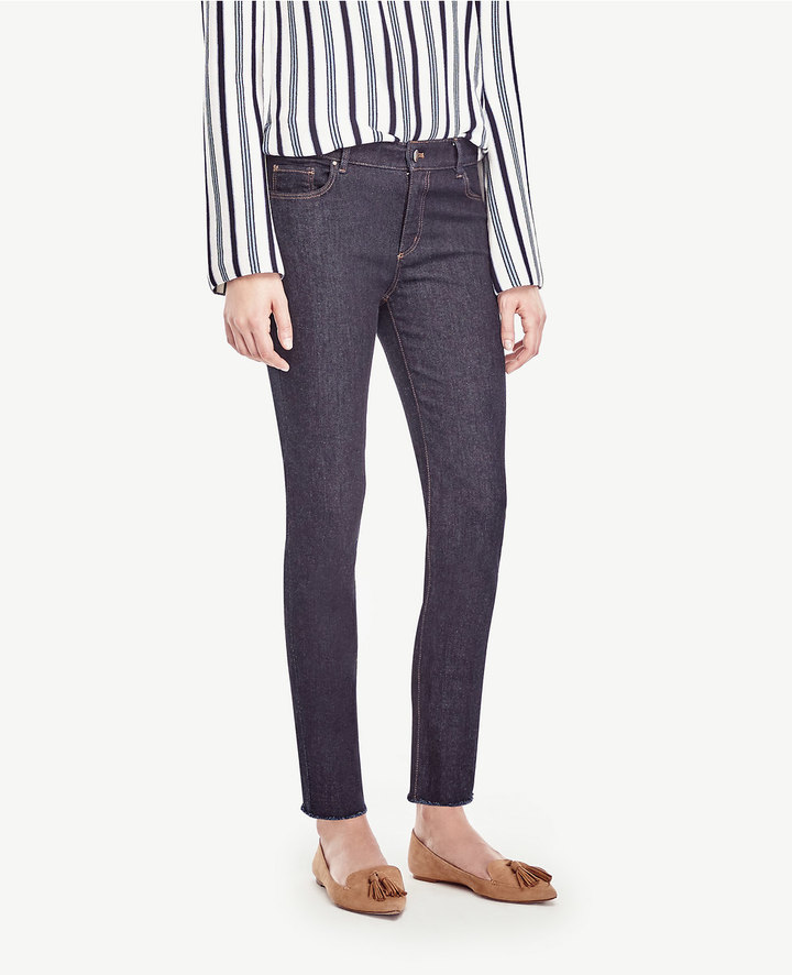 Ann TaylorFrayed Crop Jeans