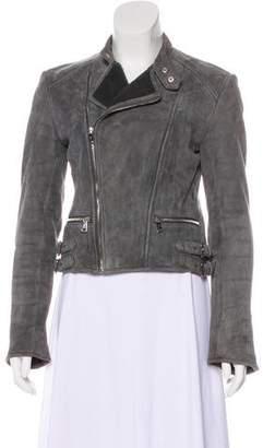 Ralph Lauren Black Label Shearling Biker Jacket