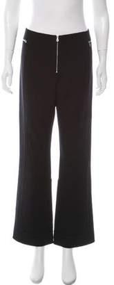 Marc Jacobs Wool High-Rise Wide-Leg Pants