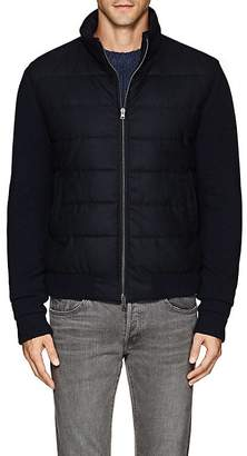 Herno Men's Virgin Wool Bomber Jacket