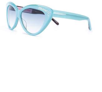 Olympia Le-Tan Olympia Le Tan x linda farrow cat eye sunglasses