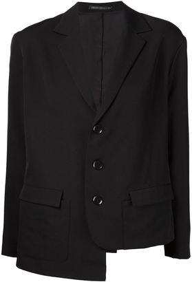 Yohji Yamamoto asymmetric blazer $1,659 thestylecure.com