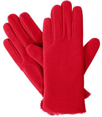 Isotoner Women's Stretch Fleece Touchscreen Texting Cold Weather Gloves with Warm