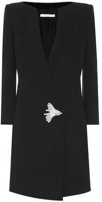 Givenchy Embellished wool dress