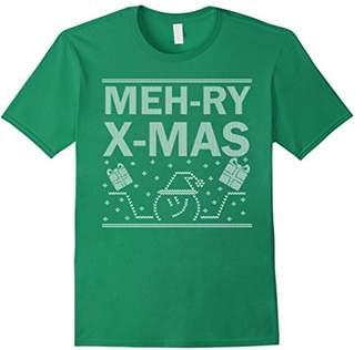 Shrug Emoji Ugly Christmas Shirt