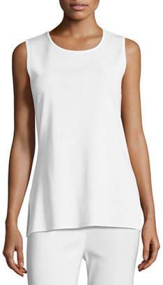 Misook Knit Scoop-Neck Tank Top, Plus Size