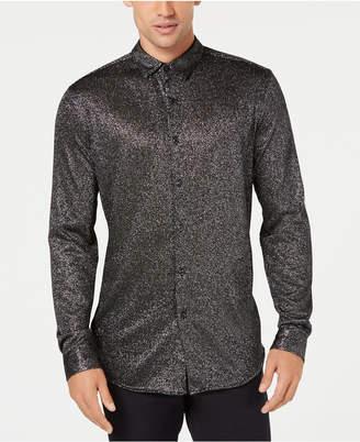 INC International Concepts I.n.c. Men's Metallic-Knit Shirt