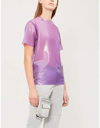 HANGER Round-neck latex T-shirt