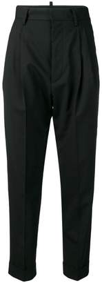 DSQUARED2 high waisted tailored trousers