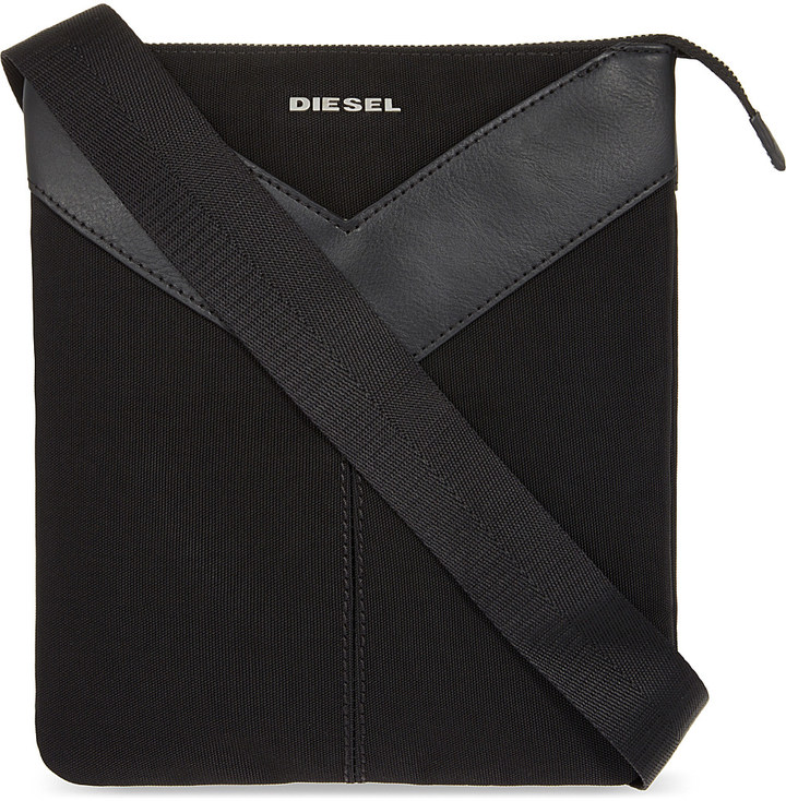 Diesel Diesel Mr. V cotton cross-body bag