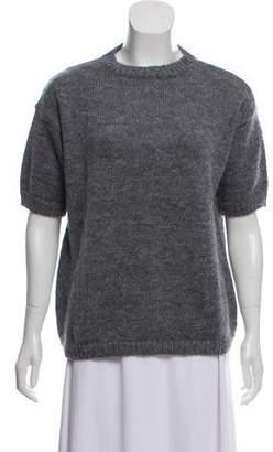 7a87c6eb844e Short Sleeve Mohair Sweater - ShopStyle