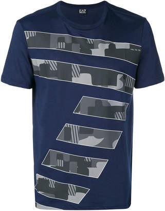 Emporio Armani Ea7 7 print T-shirt
