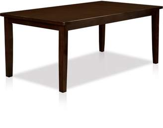 Furniture of America Holine Contemporary Dining Table, Dark Cherry