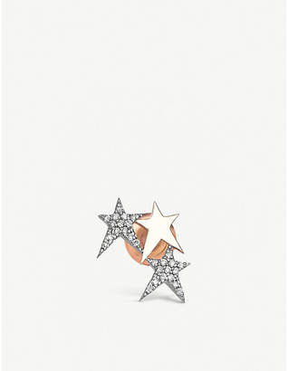 The Alkemistry Kismet by Milka star 14ct rose-gold and diamond ear cuff