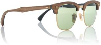 Ray-Ban Green RB3016M Clubmaster sunglasses