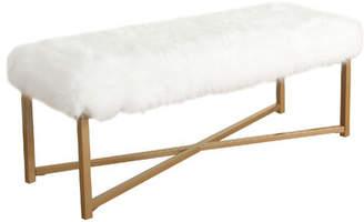 Willa Arlo Interiors Farley Fabric Bench