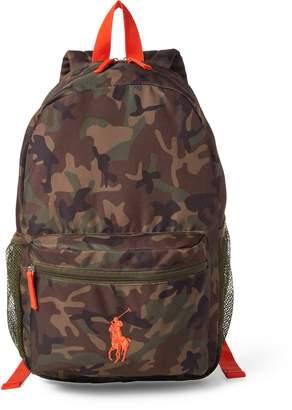 Ralph Lauren Camo Academy Backpack
