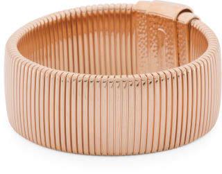 Made In Italy Flat Tubugas Bracelet