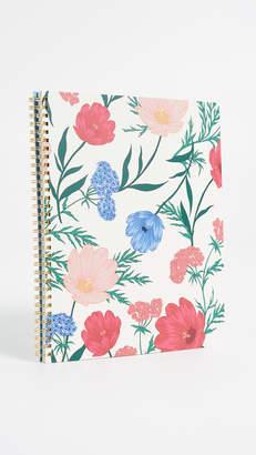 Kate Spade Blossom Large Spiral Notebook