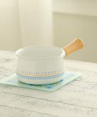 Afternoon Tea (アフタヌーン ティー) - アフタヌーン ティー ロゴ柄ホーローミルクパン 15cm