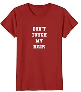 Melanin Don't Touch My Natural Hair T-Shirt