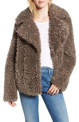 Kensie Faux Fur Jacket