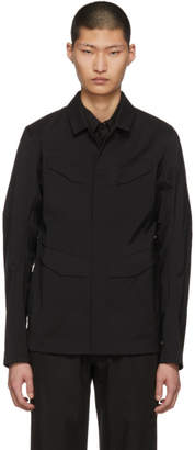 Arcteryx Veilance Black Field Overshirt Jacket