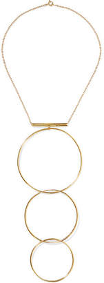Natasha Schweitzer - Levitation Gold-plated Necklace