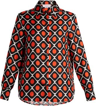 LA DOUBLEJ EDITIONS The Boy silk-twill shirt