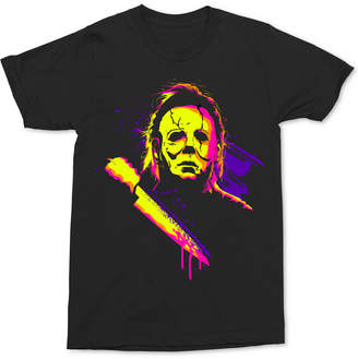 Mike Myers Men's Neon Graphic-Print T-Shirt