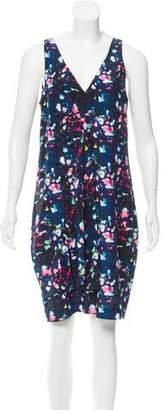 Richard Chai Digital Print Silk Dress