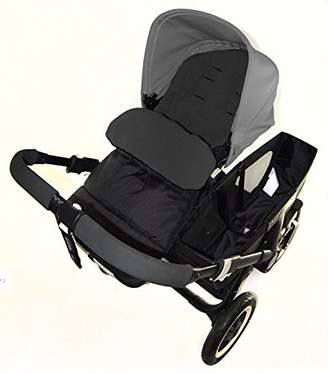 Stokke Footmuff/Cosy Toes Compatible with Crusi Pushchair Black Jack