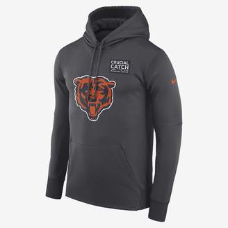 Nike Dri-FIT Therma Crucial Catch (NFL Bears) Men's Pullover Hoodie