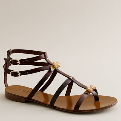 Gladiator bow tie sandals