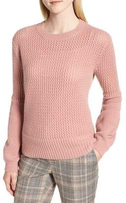 Nordstrom Signature Multistitch Cashmere Sweater