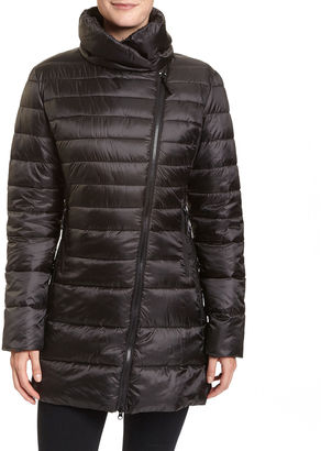 Champion Long Insulated Puffer Jacket $140 thestylecure.com