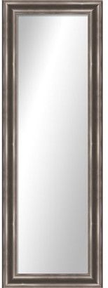 "PTM Images Montebello Silver Full Length Over the Door Mirror - 17.25"" x 53.25"""