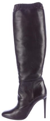 Tom Ford Leather Knee-High Boots w/ Tags