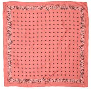 Ellery Paisley Print Silk Scarf