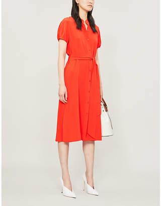 Diane von Furstenberg Mia silk-crepe dress
