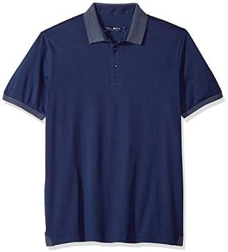 Stone Rose Men's Contemporary Fit Polo Shirt