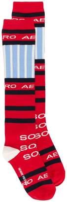 Henrik Vibskov high striped socks