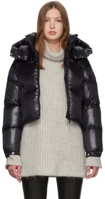 Duvetica Black Down Diadema Coat
