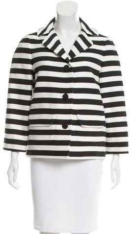 Kate Spade Kate Spade New York Oversize Striped Blazer