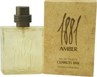 Nino Cerruti Cerruti 1881 Amber Cologne by for Men. Eau De Toilette Spray 1.7 Oz / 50 Ml.