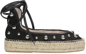 Premiata Espadrilles In Black Canvas