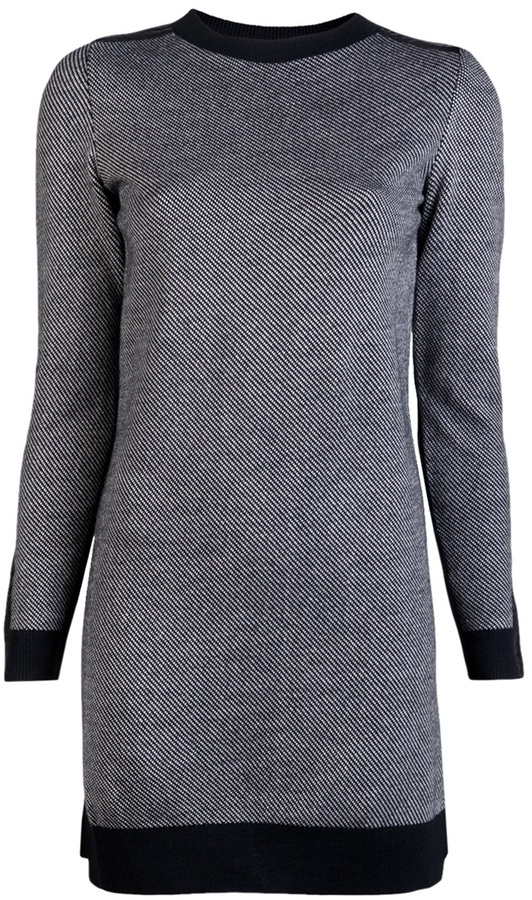 3.1 Phillip Lim Tweed stitch sweater dress