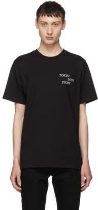 Rag & Bone Black Tokyo Love Story T-Shirt